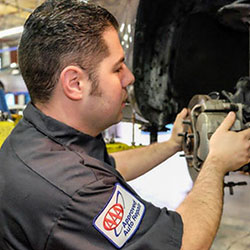 Our Technician Brake Service | TOS Auto Repair Inc.
