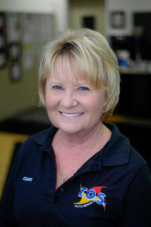 Carrie, co-owner | TOS Auto Repair Inc.